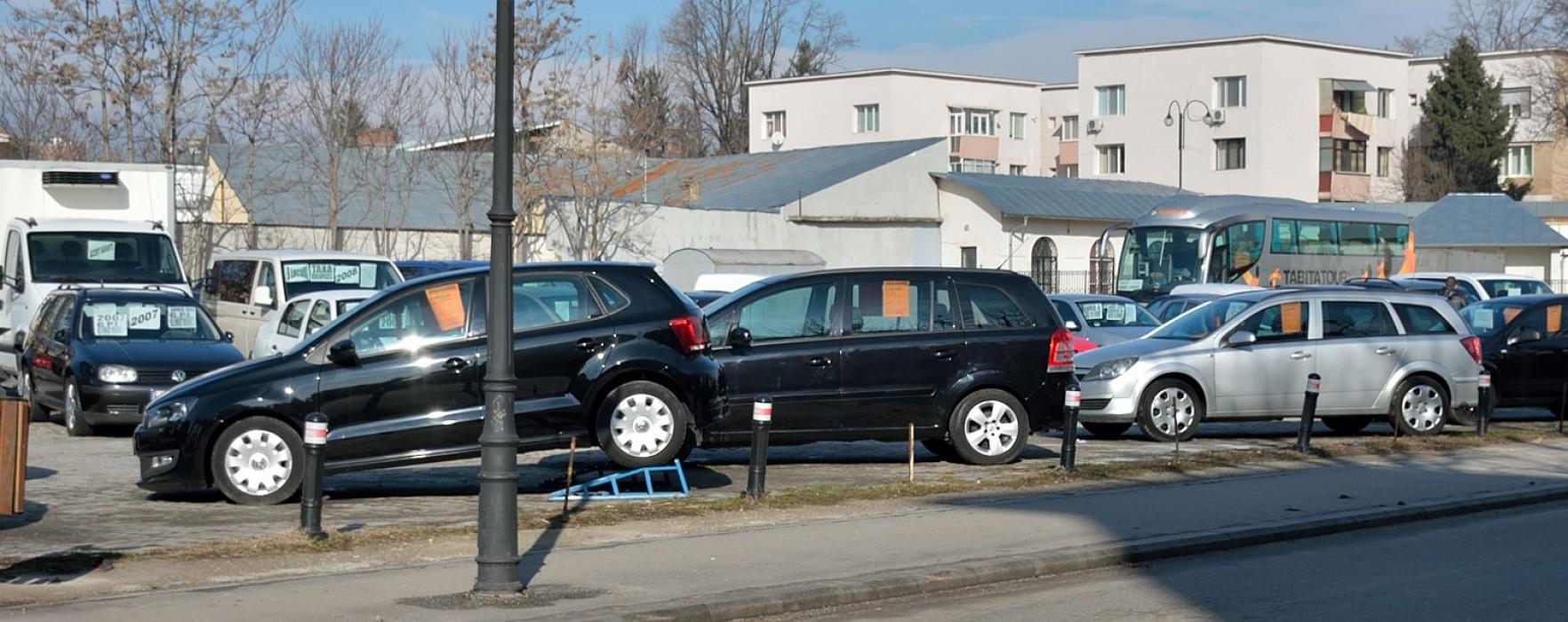 Târgovişte: Maşinile de vânzare, interzise pe domeniul public