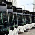 Târgovişte: Încă şase autobuze hibrid diesel-electric pentru transportul public au ajuns în municipiu