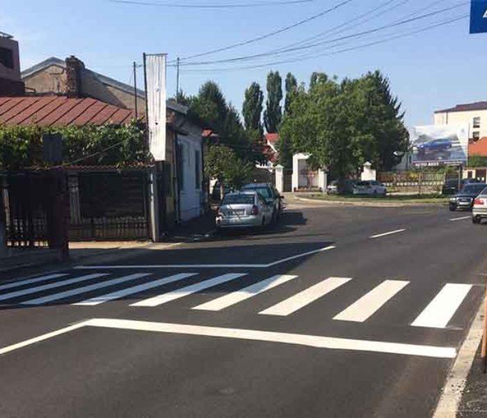 Târgovişte: S-au finalizat lucrările pe str. Mihai Bravu