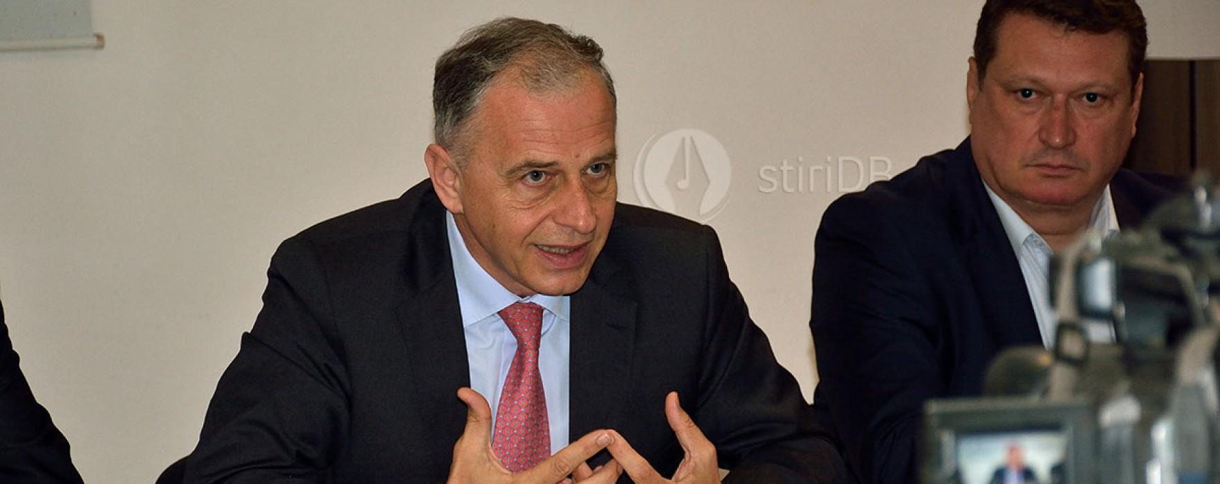 Mircea Geoană, prezent la lansarea PSRO Dâmboviţa