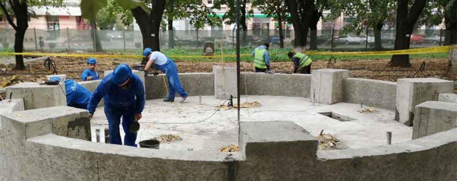 Târgovişte: Lucrări ample de reabilitare a Parcului Mitropoliei
