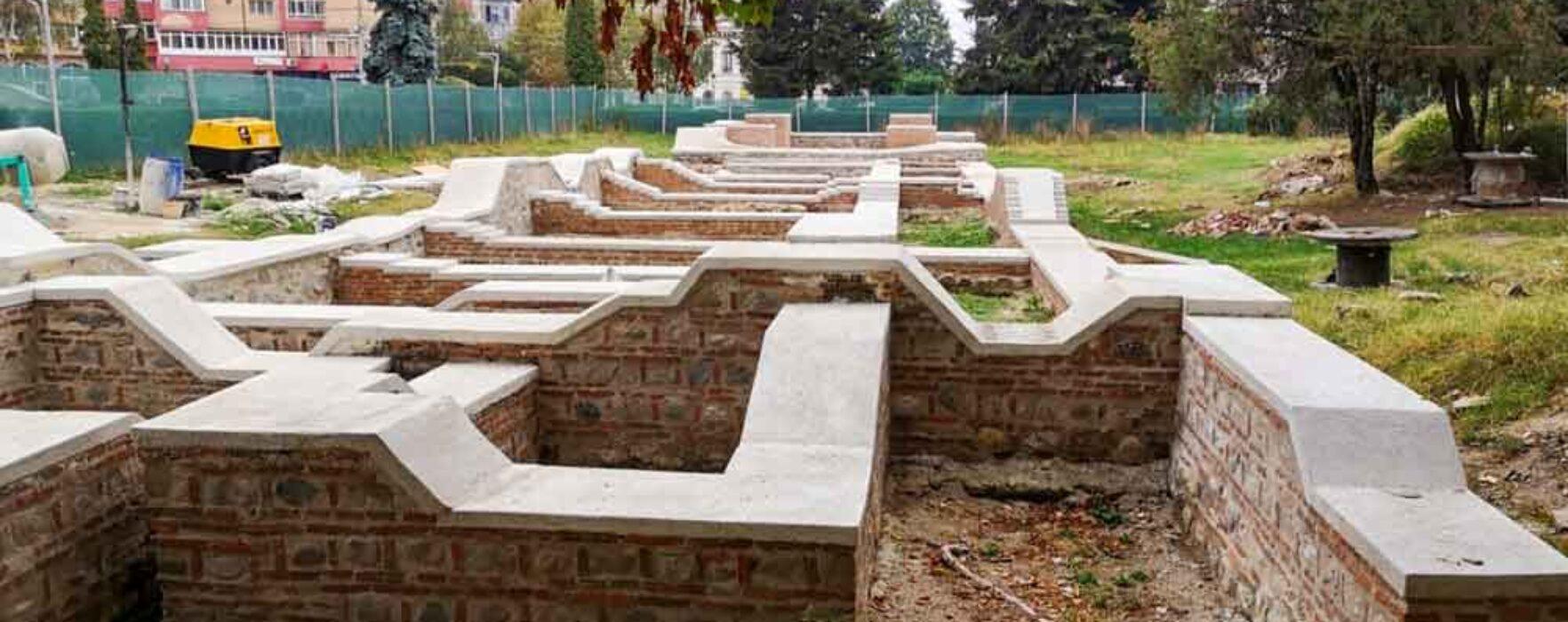 Primăria Târgovişte, precizări cu privire la restaurarea ruinelor din Parcul Mitropoliei