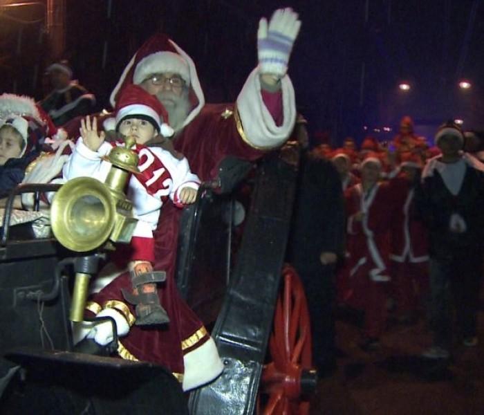 Moş Crăciun va veni vineri la Târgovişte