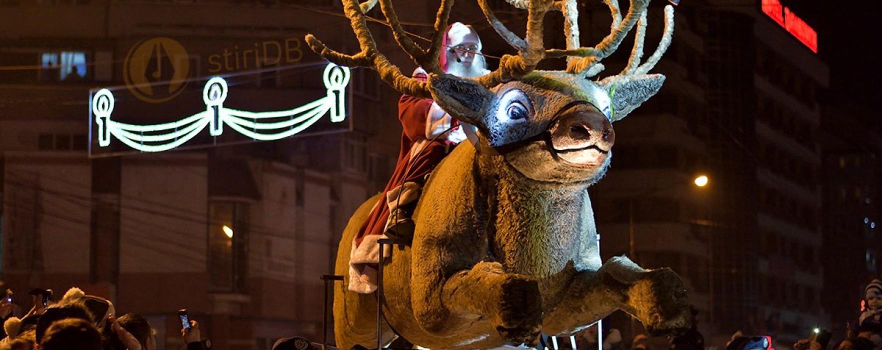 Târgovişte: Moş Crăciun vine în municipiu pe 14 decembrie