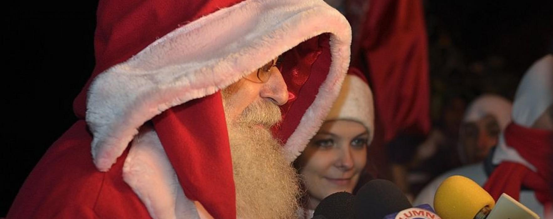 Parada lui Moş Crăciun, vineri, la Târgovişte