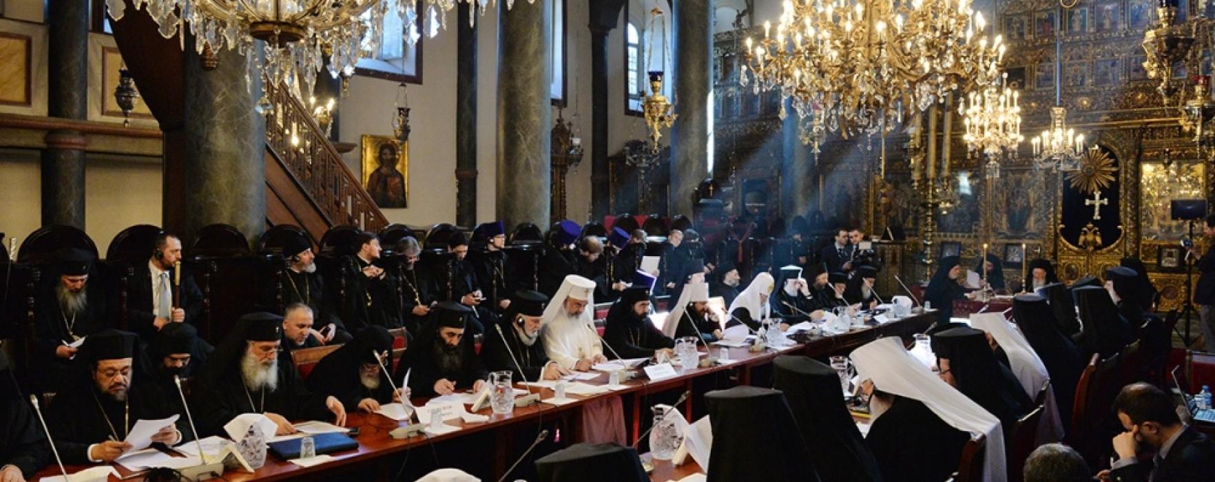 Arhiepiscopul şi Mitropilitul Târgoviştei, Nifon,  la Sinaxa de la Istanbul