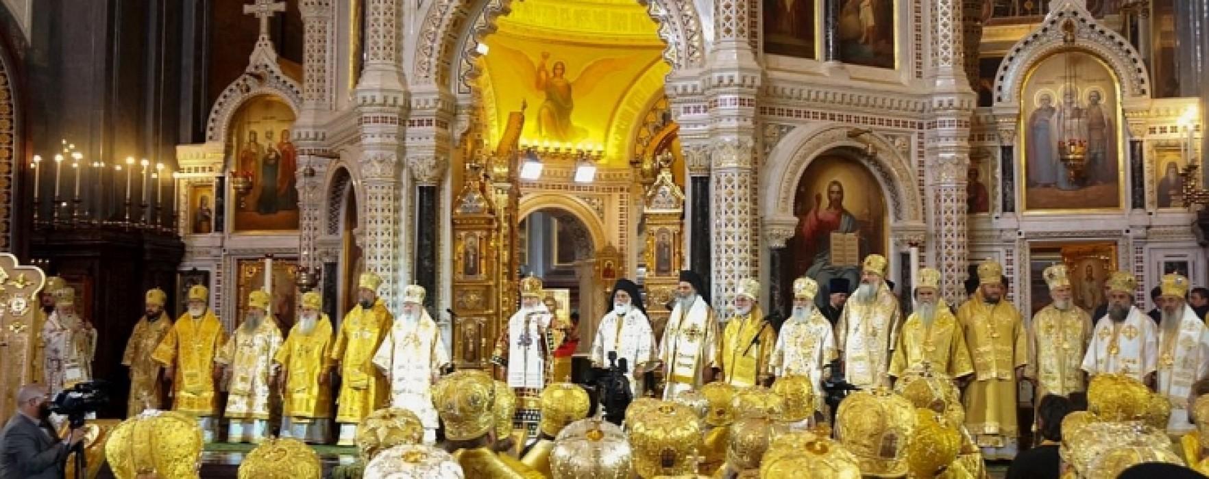 Arhiepiscopul Târgoviştei Nifon, trimis de patriarh la Moscova