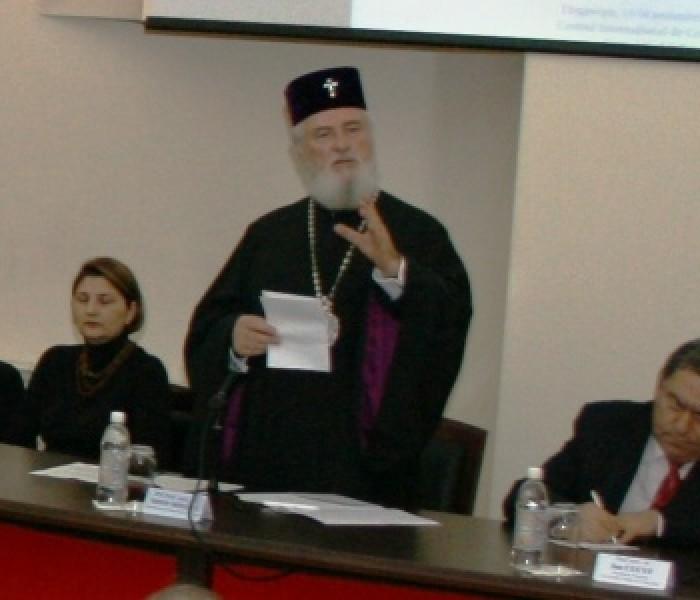 """Simpozion internaţional cu tema """"Globalizare, religie, educaţie"""", la Târgovişte"""