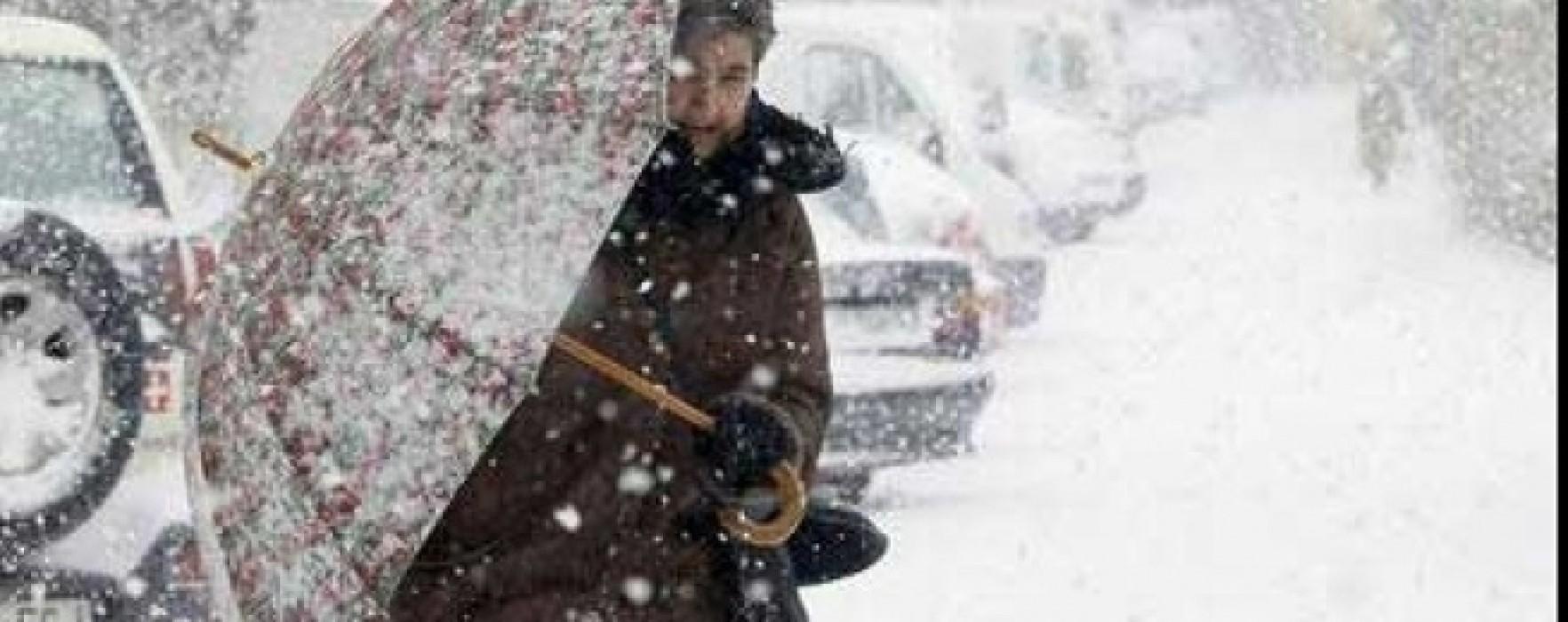 Cod Galben de ninsoare şi vânt pentru nordul judeţului Dâmboviţa