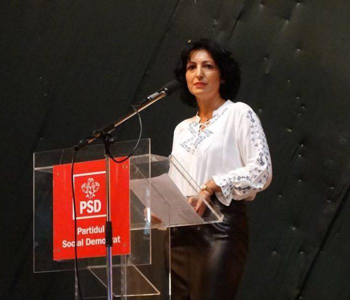 Declaraţie politică, Oana Vlăducă (PSD): Între isterie şi decenţă, între manipulare şi onestitate