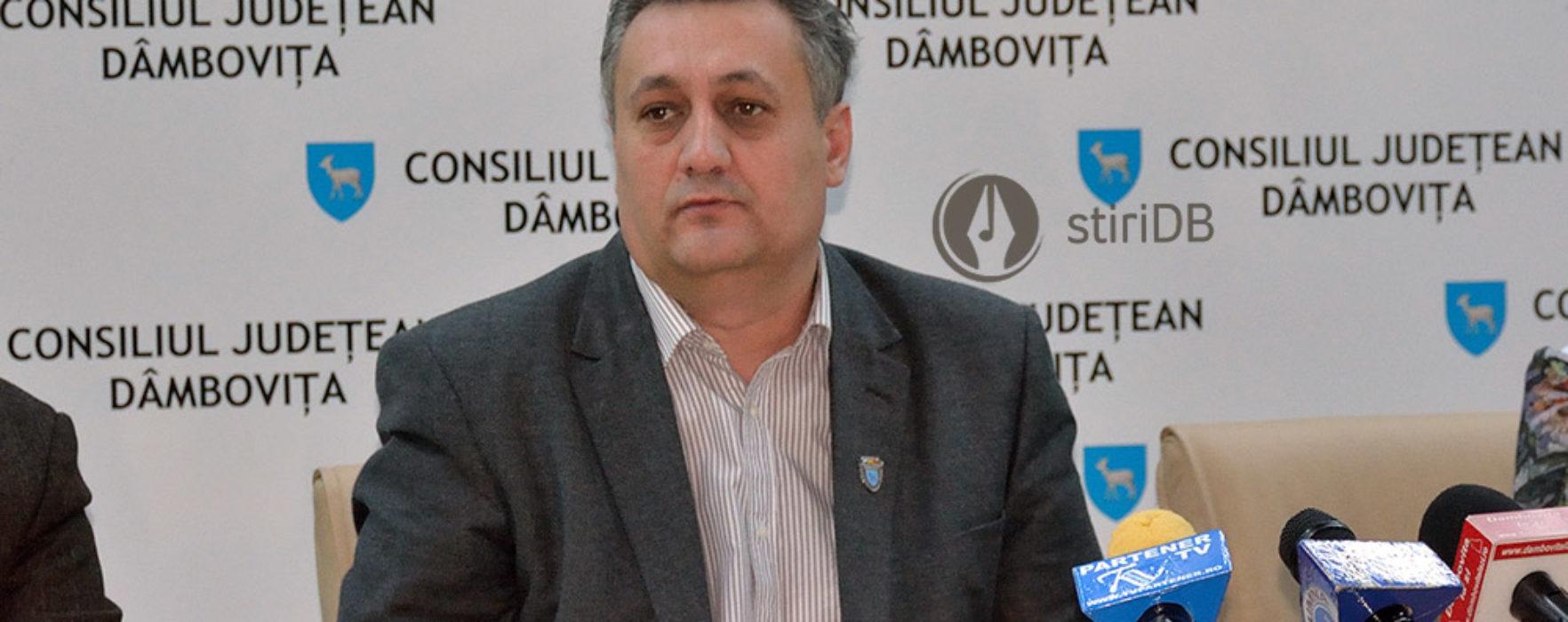 Ce pensie ia de la SRI preşedintele CJ Dâmboviţa, pensie cumulată cu salariul de la consiliu