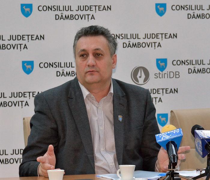 Alexandru Oprea, ales preşedinte al CJ Dâmboviţa