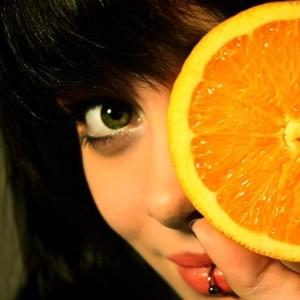 orange_girl_by_Amichelli
