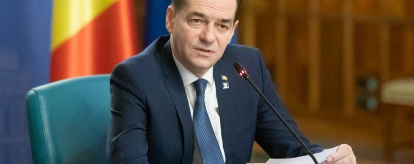 Premierul Orban vine miercuri la uzina de la Dragomireşti, unde se vor produce măşti