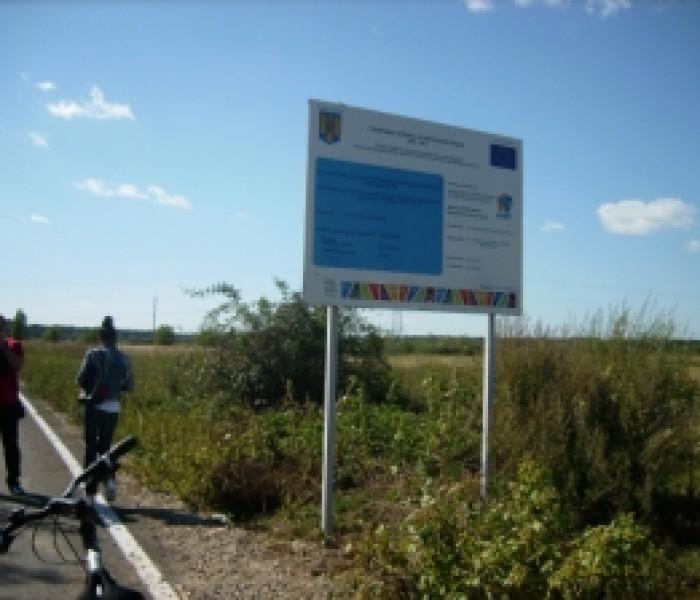 Drumuri de exploataţie agricolă, realizate de Primăria Târgovişte cu fonduri europene