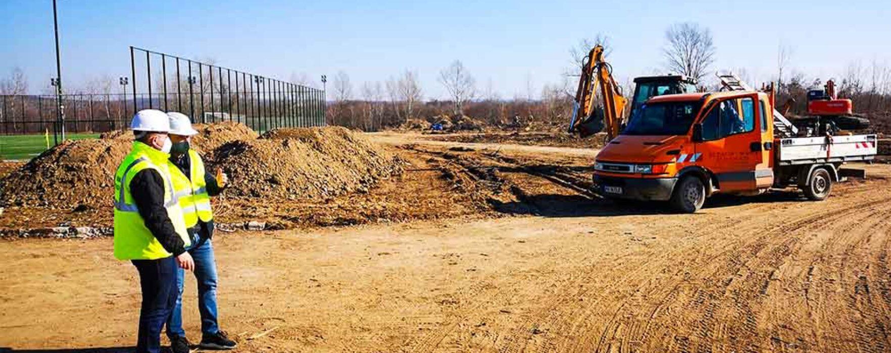 Târgovişte: Parc nou în apropierea Complexului de Nataţie