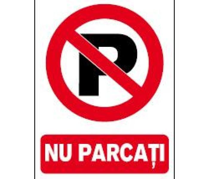 Târgovişte: Acces restricţionat în parcarea din spatele Hotelului Dâmboviţa