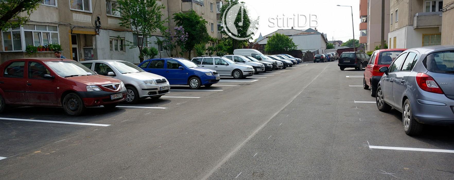 Târgovişte: Parcare de 113 locuri, în spatele blocurilor de pe Tudor Vladimirescu, vizavi de spital