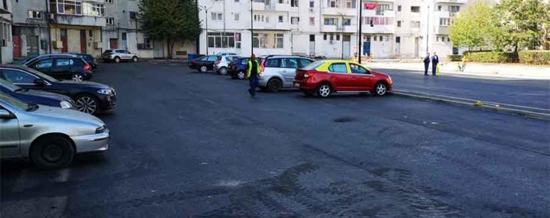 Târgovişte: 200 de locuri noi de parcare în micro 3