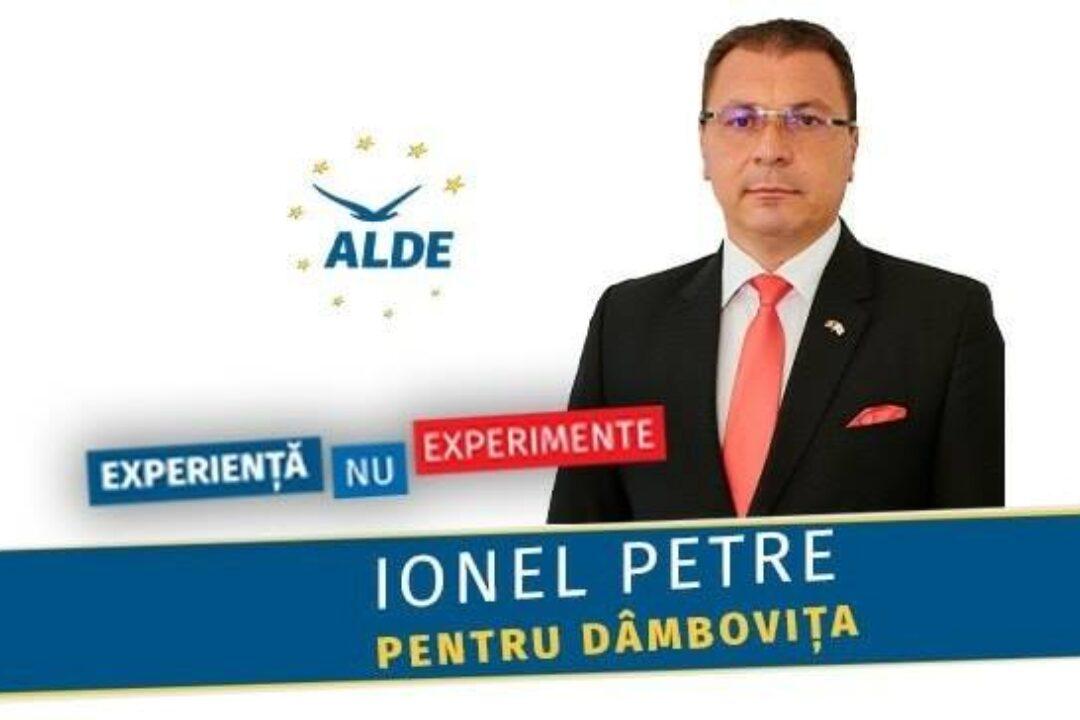 Locale2020 Ionel Petre, ALDE Dâmboviţa: Avem toate ingredientele unui județ de succes!
