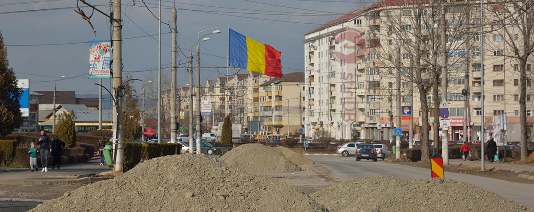 Târgovişte: PIDU A (lucrările din micro 6) – 35% gata