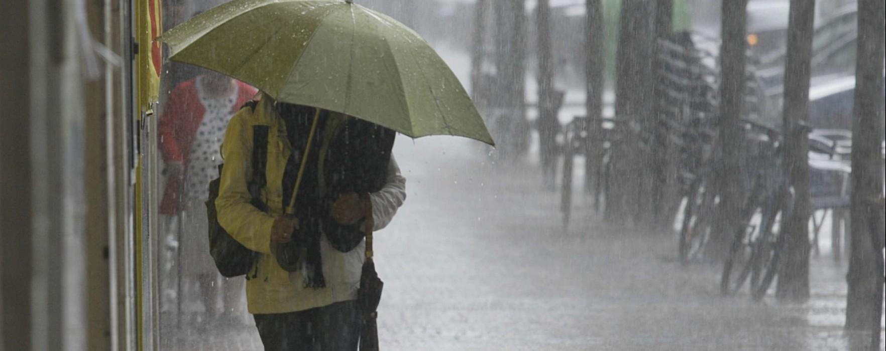 Dâmboviţa: Cod Portocaliu de ploi în nordul judeţului, Cod Galben în rest