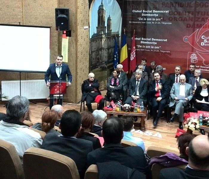 S-a înfiinţat Clubul Social Democrat în Dâmboviţa