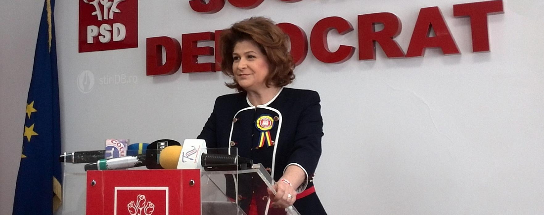Rovana Plumb, aleasă președinte al Consiliului Național al PSD