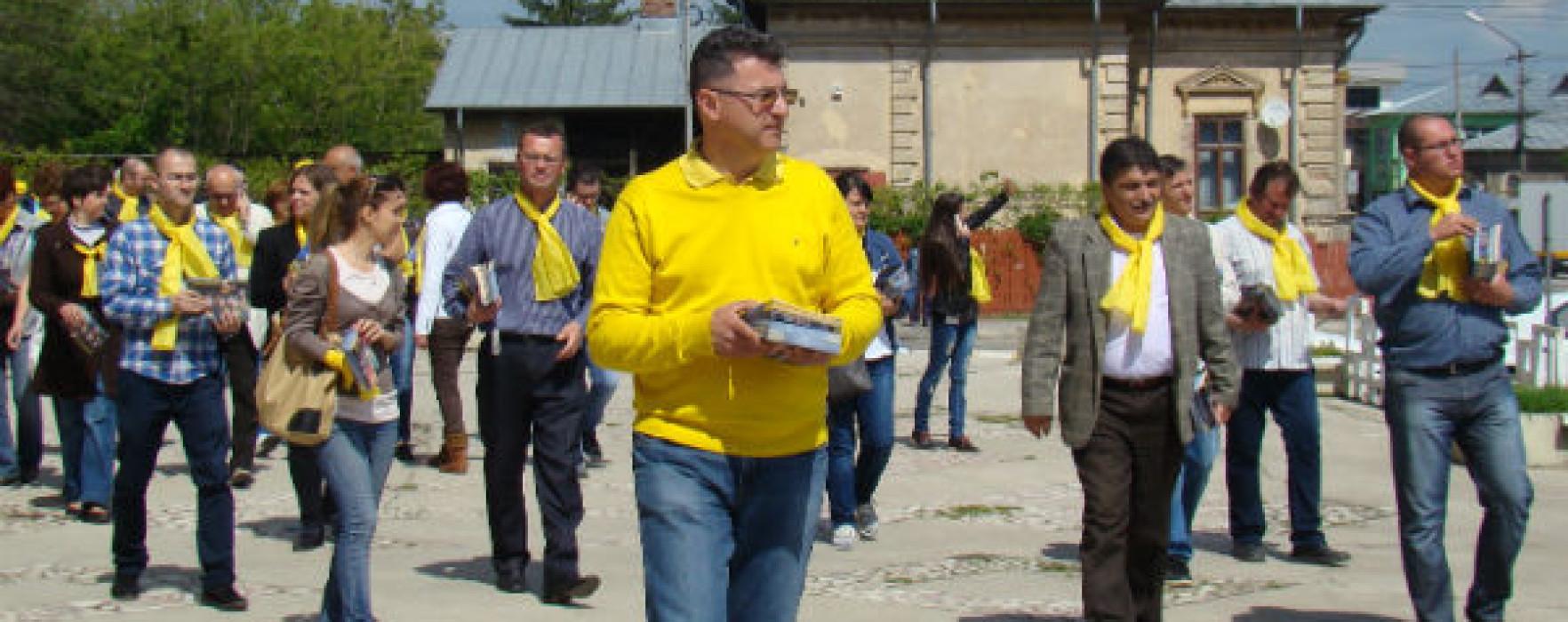 Acţiuni de campanie ale PNL Târgovişte
