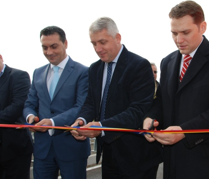 Podul peste Argeş de la Ioneşti, inaugurat de ministrul Dan Şova