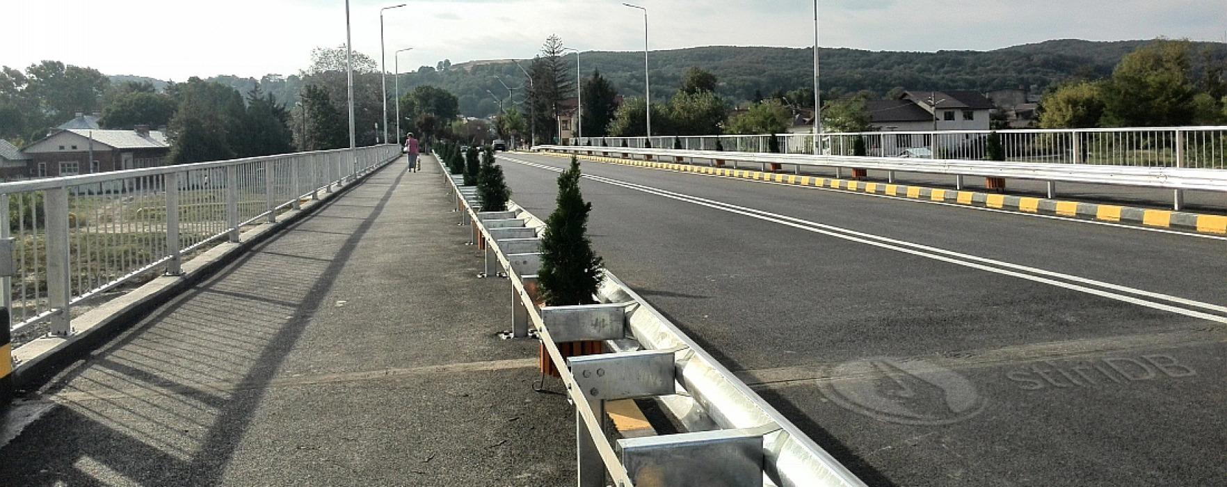 Podul de la Moreni peste Cricov, reabilitat cu bani europeni