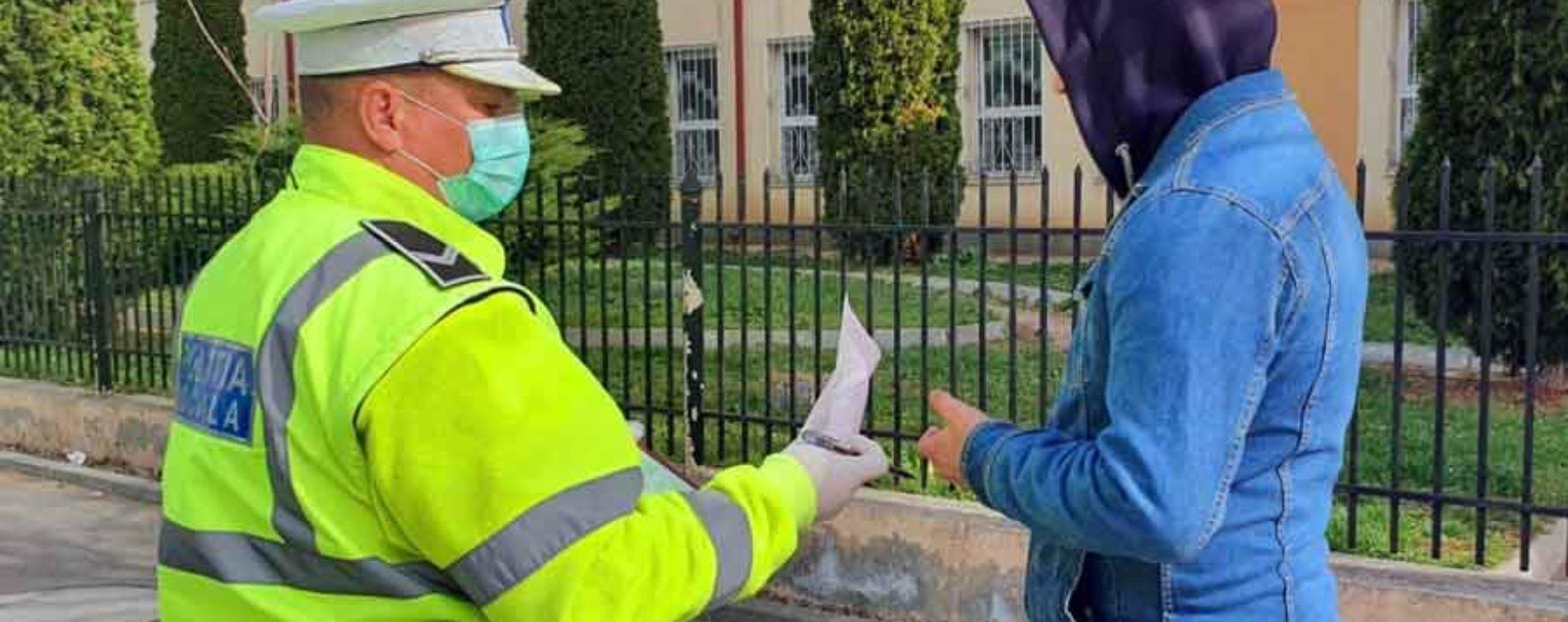 Dâmboviţa: Peste 200 de sancţiuni pentru nerespectarea interdicţiilor de circulaţie (30 martie)