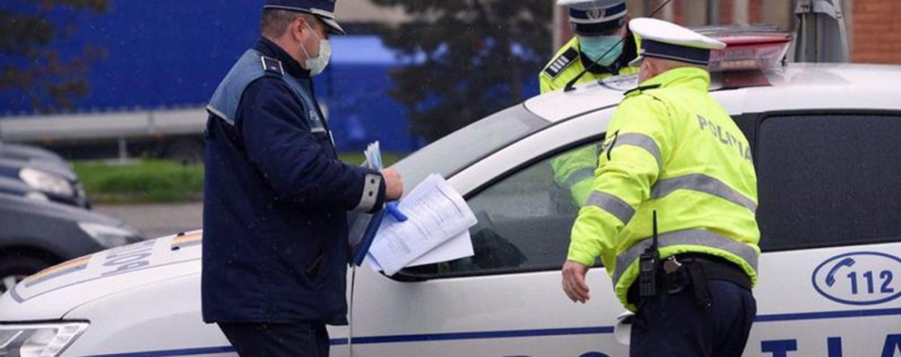 Dâmboviţa: 221 de amenzi pentru cei care nu au respectat restricţiile de circulaţie