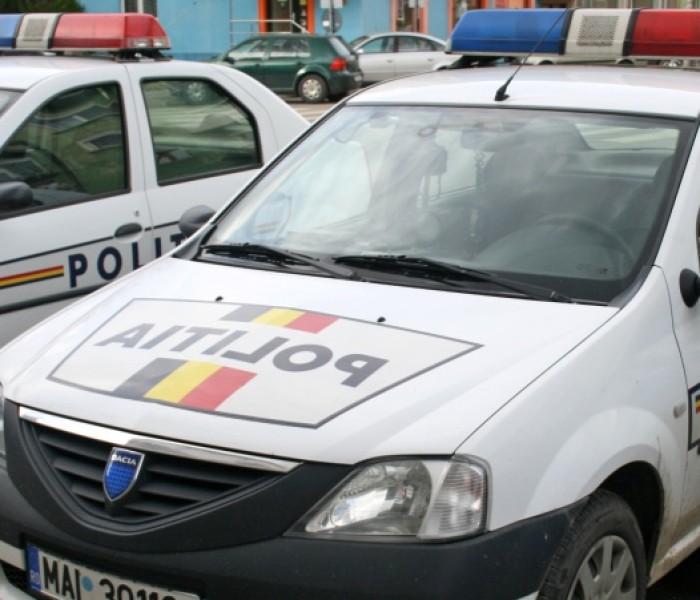 Efective mărite de poliţişti dâmboviţeni, în stradă, de minivacanţa de 1 Mai