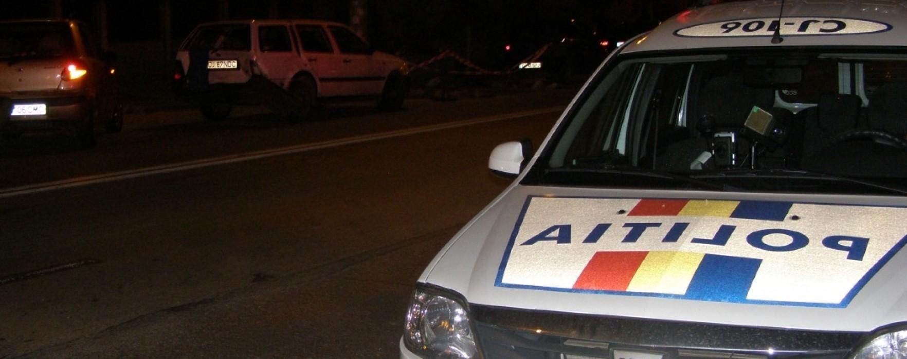 Razie a poliţiştilor în municipiul Târgovişte