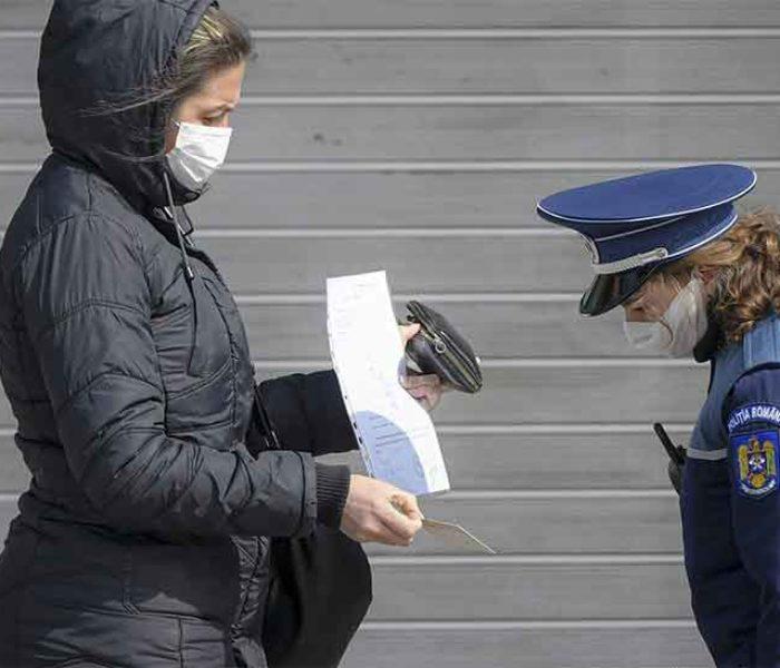 Dâmboviţa: Amenzi de peste 3,4 milioane de lei pentru nerespectarea prevederilor ordonanţelor militare, de la debutul pandemiei