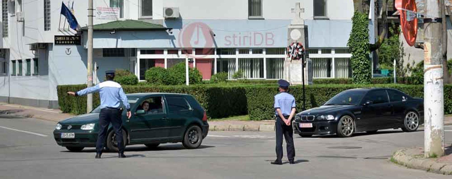 Târgovişte: Circulaţie închisă, joi, pe Bdul. Mircea cel Bătrân, între 11.15-13.30