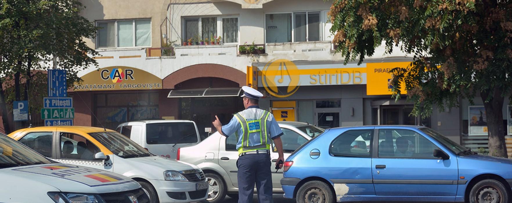 Târgovişte: 14 străzi închise circulaţiei duminică, din cauza mitingului PSD