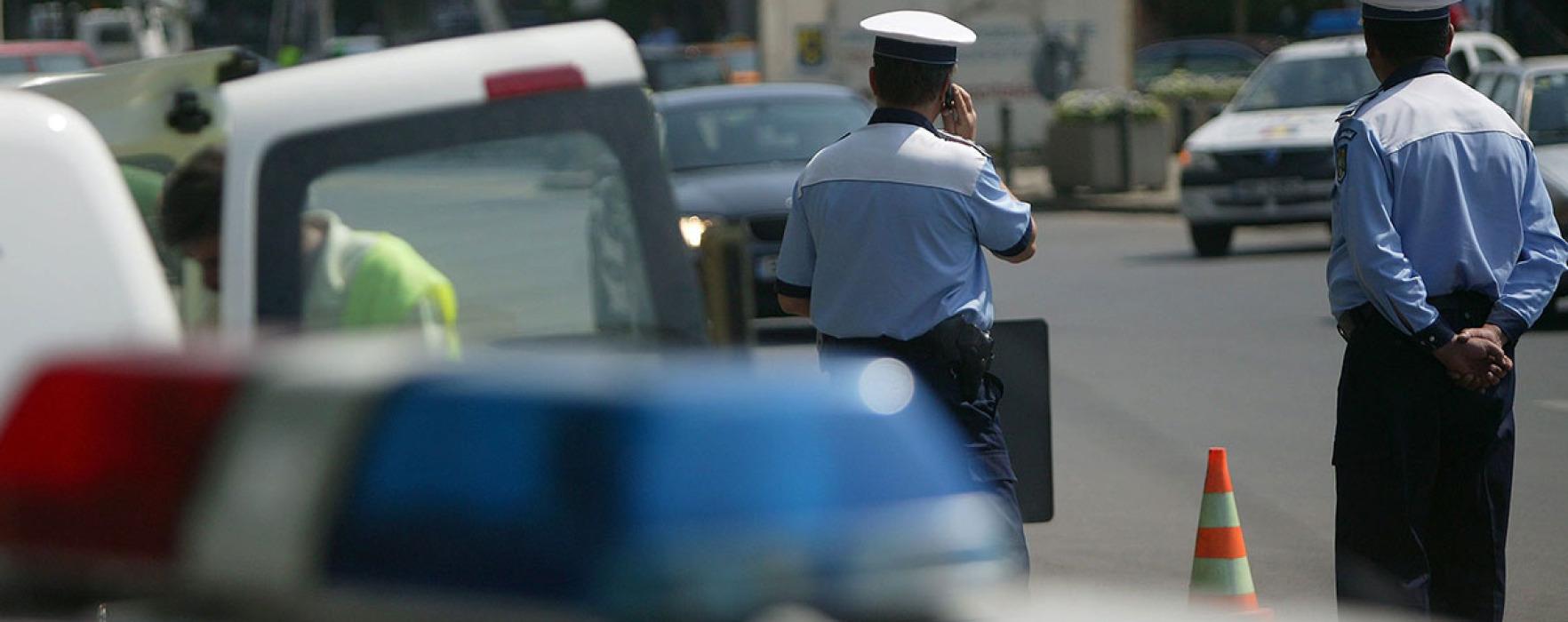 Târgovişte: Acţiune a poliţiştilor rutieri; vizaţi pietonii