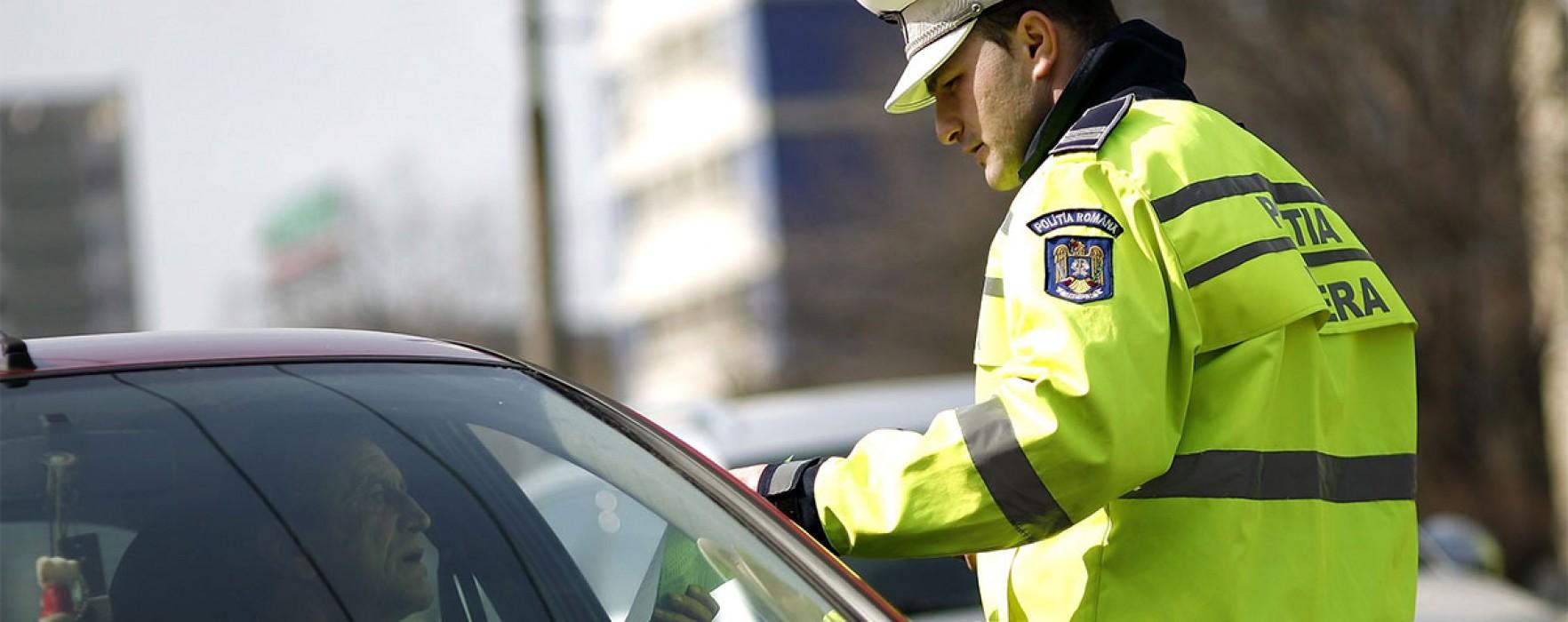 Poliţia Dâmboviţa: 35 de permise de conducere reţinute, de sărbători