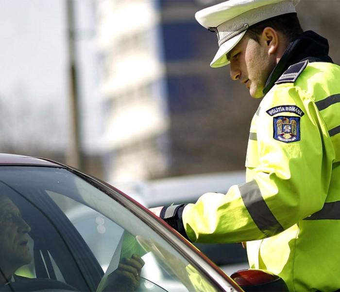 Dâmboviţa: Acţiune de amploare a poliţiştilor de la Rutieră; peste 500 de sancţiuni date