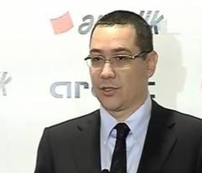 Premierul Victor Ponta va veni, joi, în Dâmboviţa la Arctic