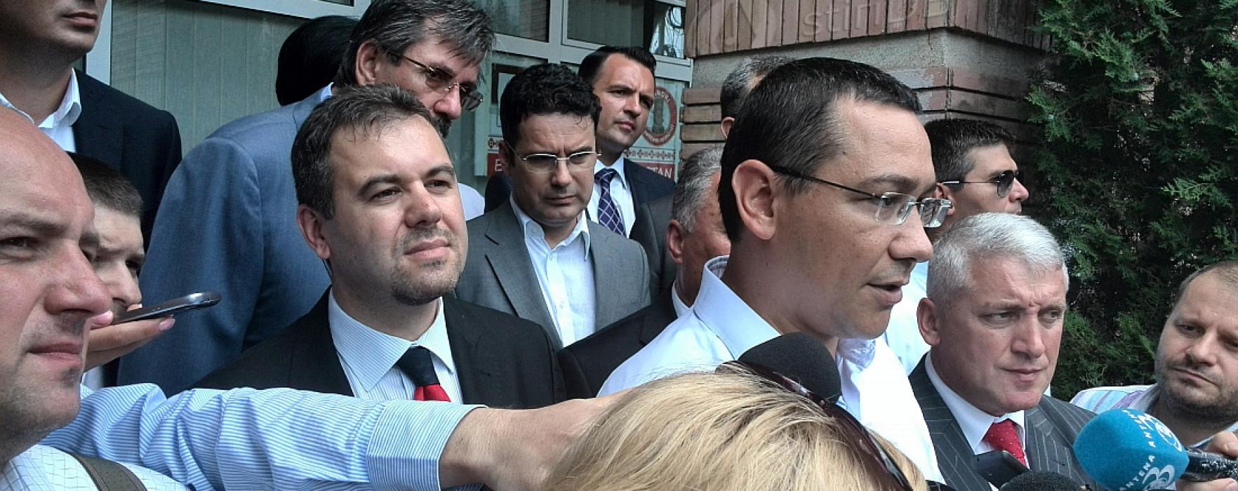 Varianta Gâdea preşedinte, Ponta premier: scenarii, susţine Ponta care subliniază că va candida la prezidenţiale