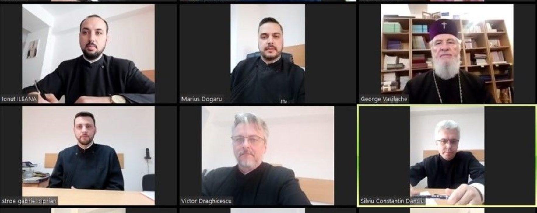 Arhiepiscopia Târgovişte anunţă că utilizează videoconferinţa pentru prevenirea răspândirii COVID-19