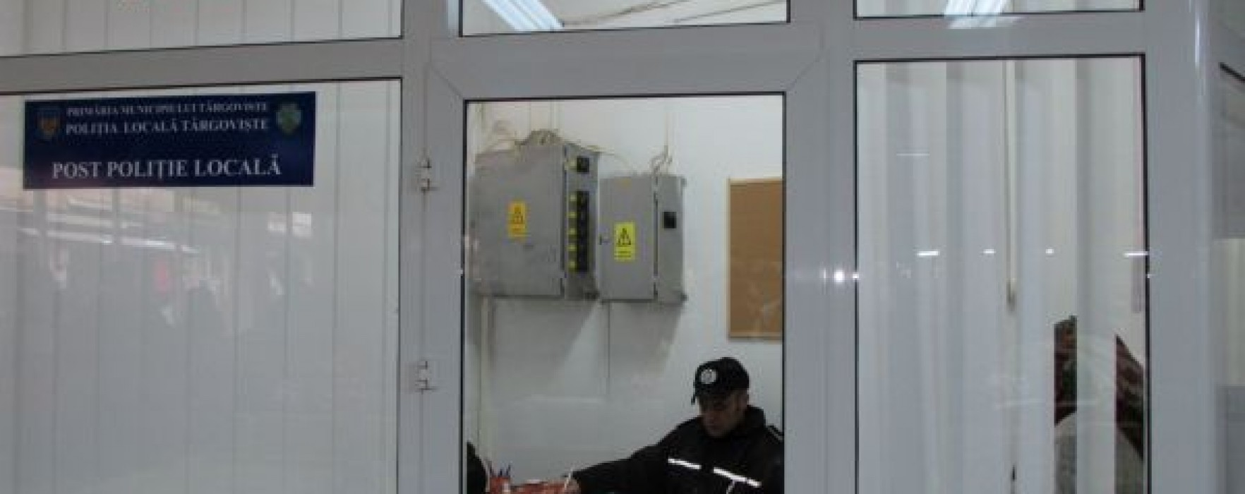 Târgovişte: Post al Poliţiei Locale la Piaţa 1 Mai