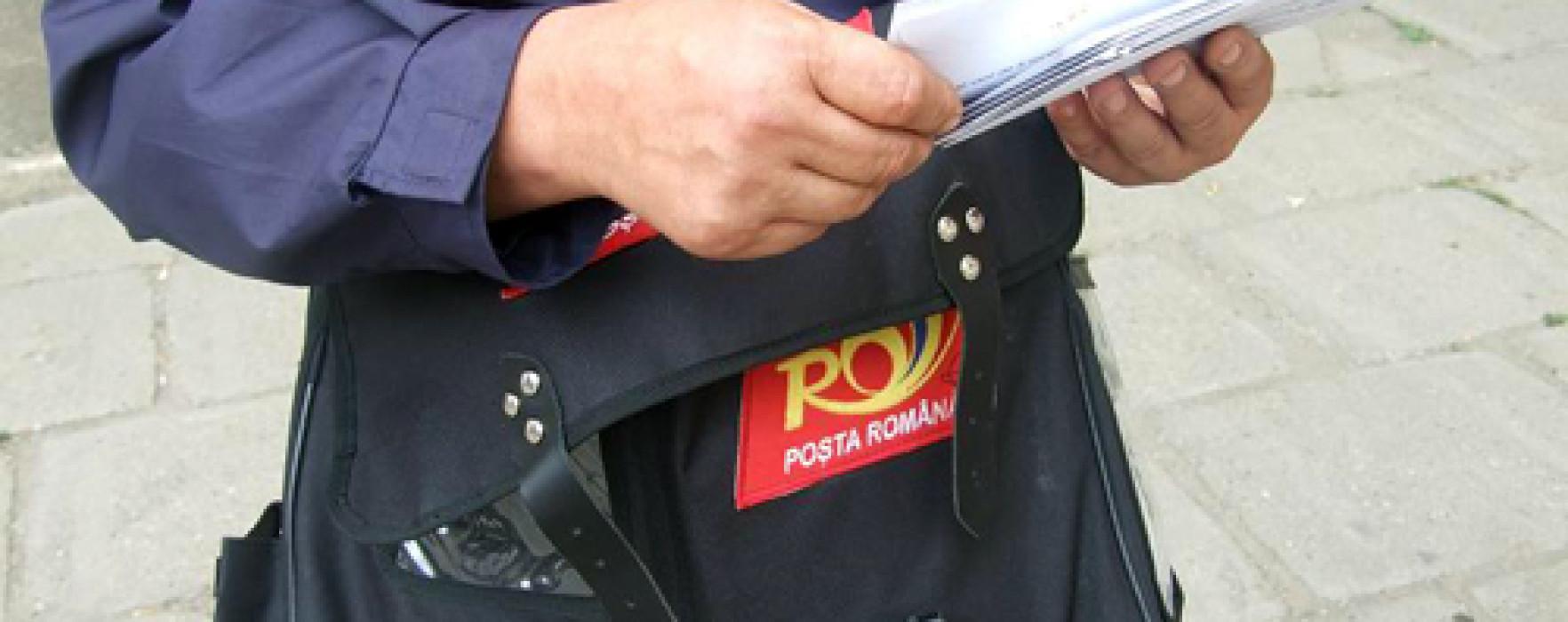 Factor poştal, muşcat de câini la Târgovişte