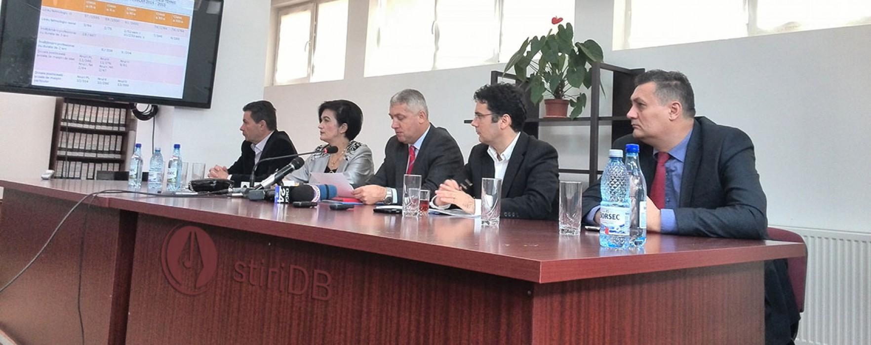 Remus Pricopie, la Târgovişte: Dialogul directori licee tehnologice-oameni de afaceri, benefic
