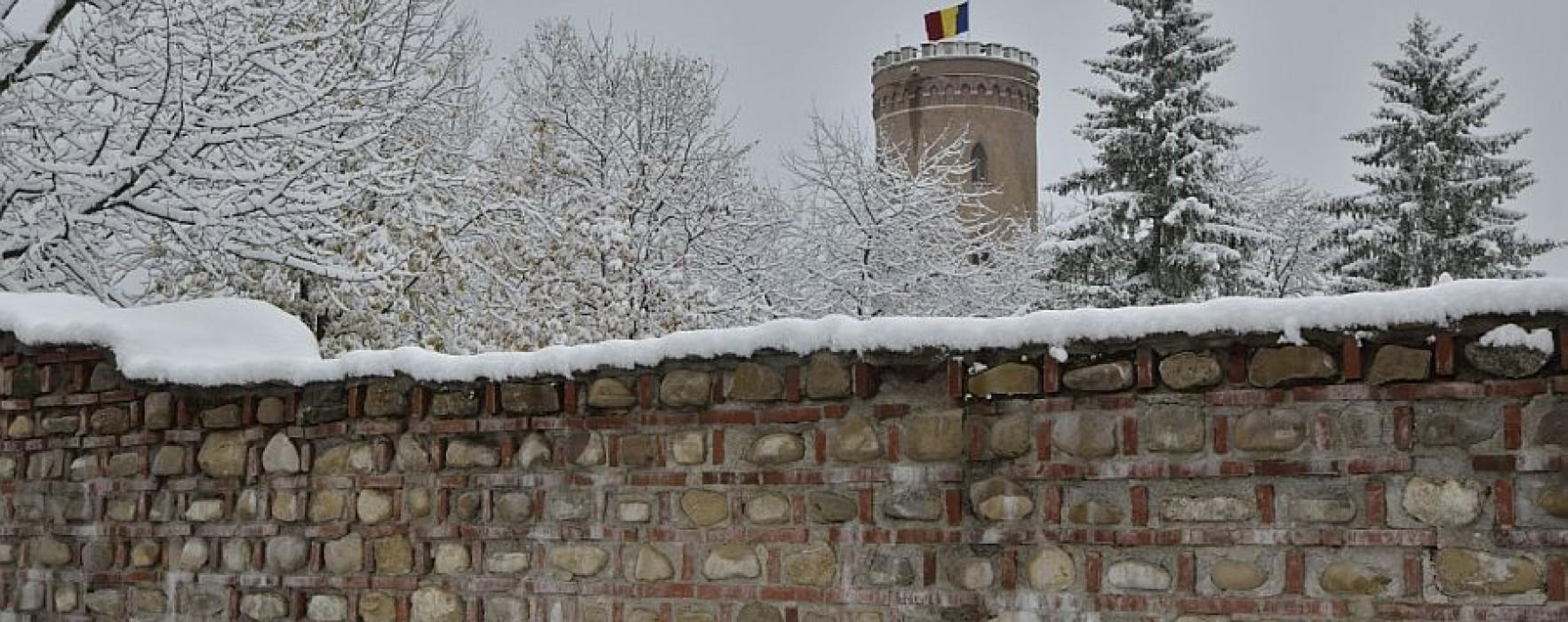 Târgovişte: Vreme geroasă şi ninsori, până joi