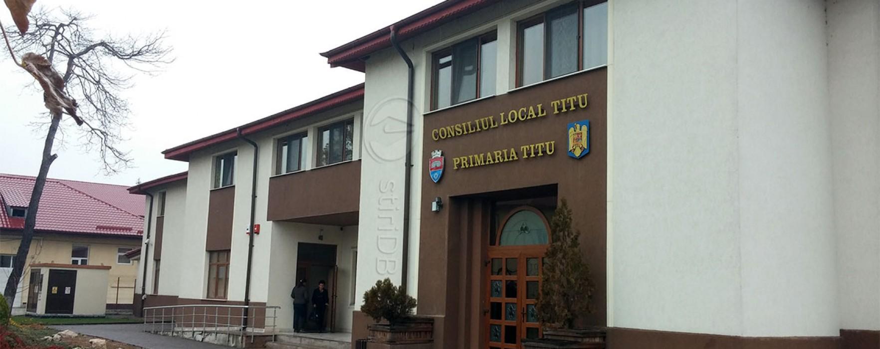Primăria Titu: Anunţ licitaţiei publică pentru  închiriere spaţiu comercial Piaţa Complex Modern Titu