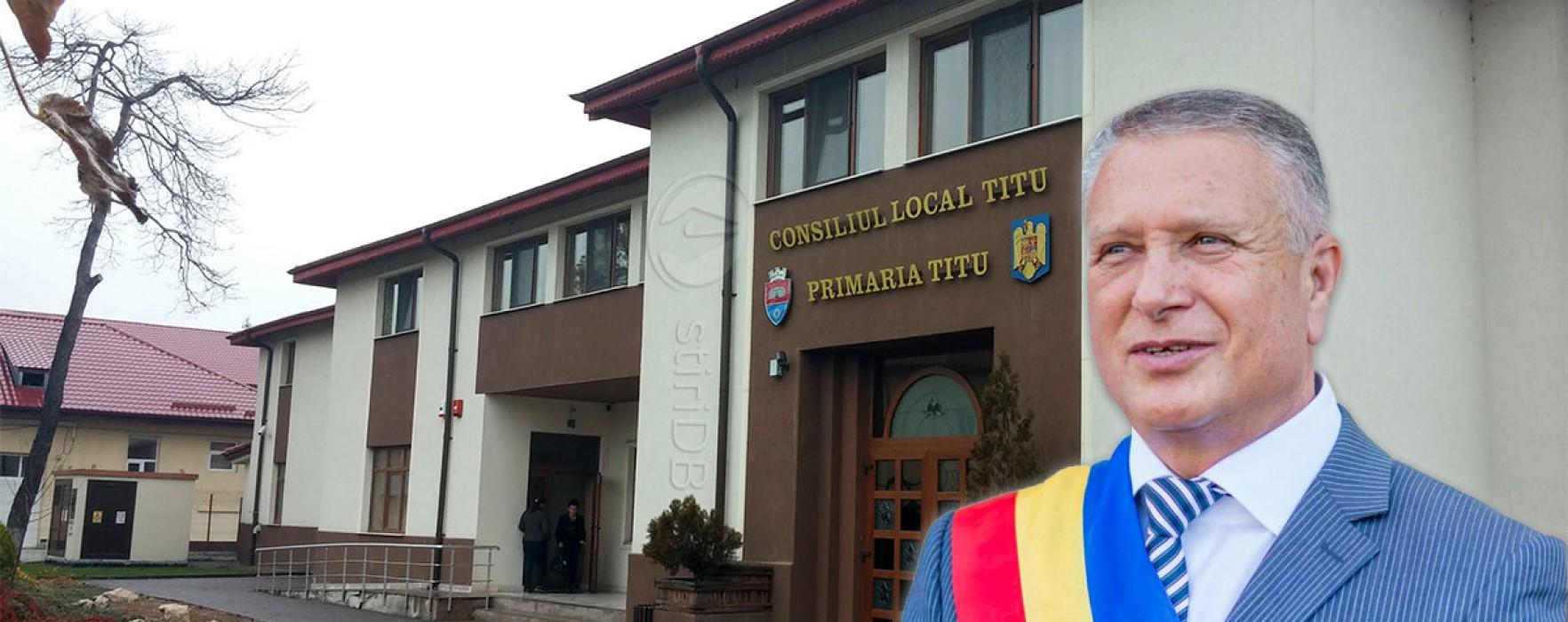 Primarul din Titu, Traian Niculae, anunţă că va candida din partea UNPR